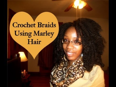 Crochet Hairstyles Using Marley Hair : How To: Crochet Braids Using Marley Hair (Requested) - YouTube