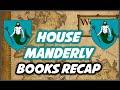House Manderly: Books Recap