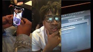 "Turbo Playin Beats in the Studio [Plays ""Gunna - Big Shot""]"
