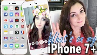 What's On My iPhone 7 Plus? (Playing with SnapChat Filters & Review)