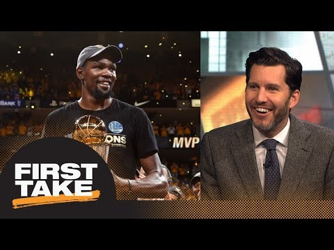 Will Cain: Kevin Durant era will begin Game 1 of 2018 NBA Finals   First Take   ESPN