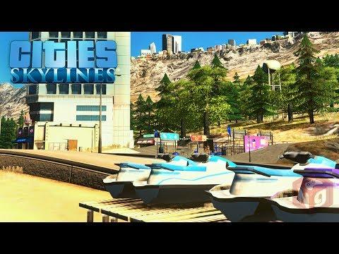 Cities: Skylines - Щепотка туризма! #37
