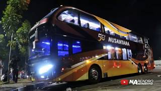 BALAPAN BUS TINGKAT, NUSANTARA vs KARINA - MAN vs MERCEDES BENZ - Stafaband