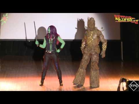 Concours Cosplay Médialopolis - Gamora & Groot