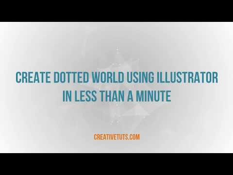 Creating Dotted World in Illustrator - Quick Tutorial