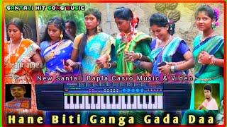 HANE BITI NELME BITI GANGA GADA 🔥🔥 SANTALI HIT SONG BAPLA PIANO MUSIC & VIDEO