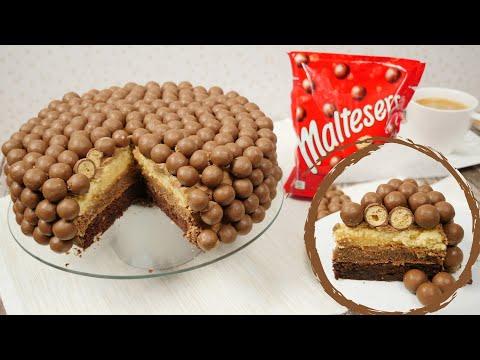 Maltesers Ombre Cake I Saftiger Schokoladenkuchen I Schokowoche Teil 4