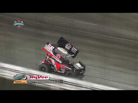 Knoxville Raceway 305 Highlights May 13, 2017