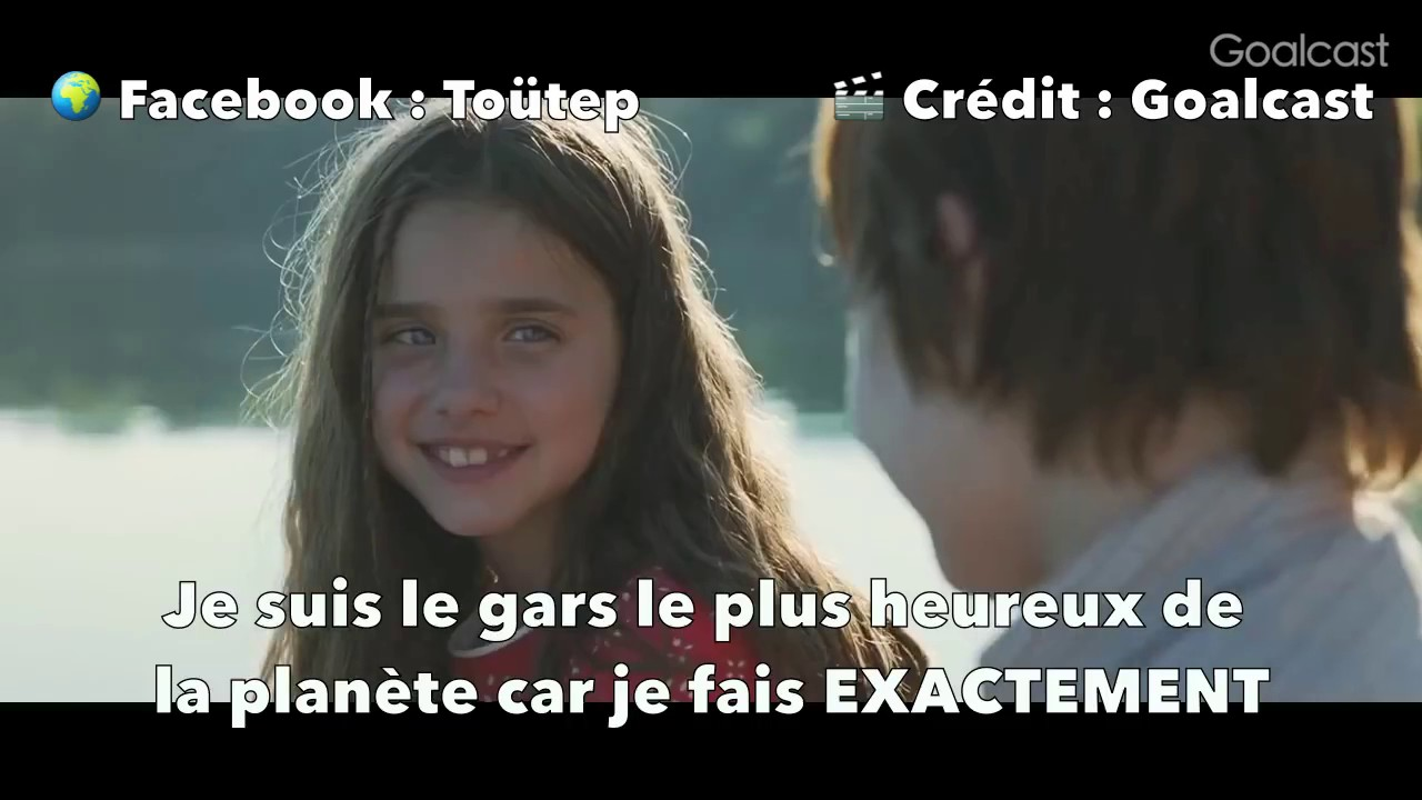 Be Happy Most Important GOALCAST MOTIVATION VIDEO VOSTFR
