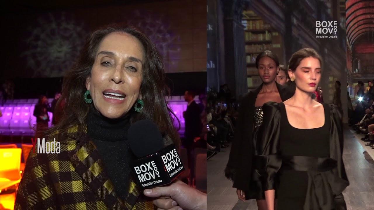 Bogotá Fashion Week 2019 - impresiones de  Pilar castaño pasarela inaugural