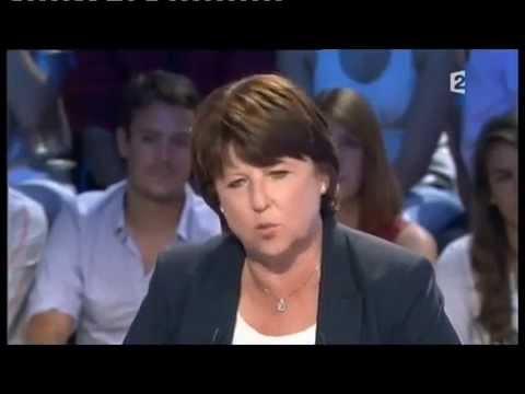 Martine Aubry - On n'est pas couché 3 septembre 2011 #ONPC