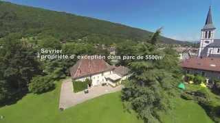 Annecy, Haute Savoie, Propriété d'Exception a 100 m du lac -  Sévrier
