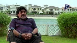 Maradona habla de Messi