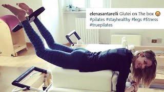 Come si tiene in forma Elena Santarelli #workoutvip