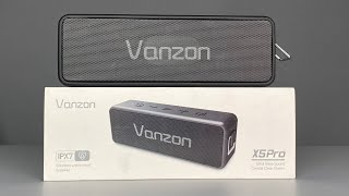 $30 Vanzon X5Pro Bluetooth Speaker Review - GIVEAWAY!