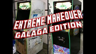 Galaga Arcade Extreme Makeover
