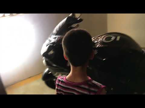 Kid Scared By Brocks Hayabusa Throttle, Self Scared