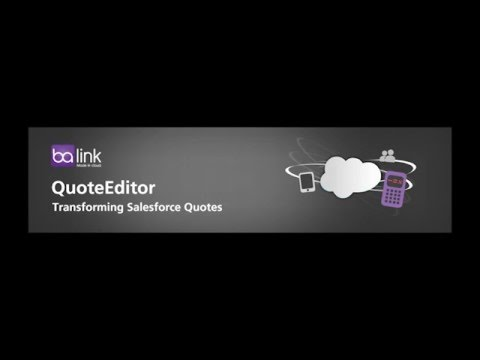 quote editor