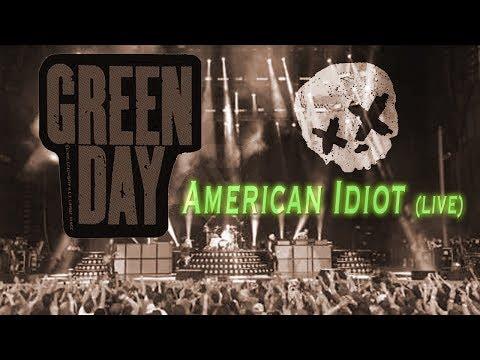 Green Day - American Idiot (live) Revolution Radio Tour 2017 @ West Palm Beach