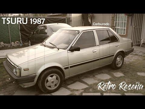 Nissan Tsuru 1987 ( viejito pero bonito )