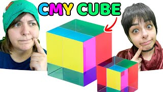 Tried Making This Viral CMY Cube With Resin
