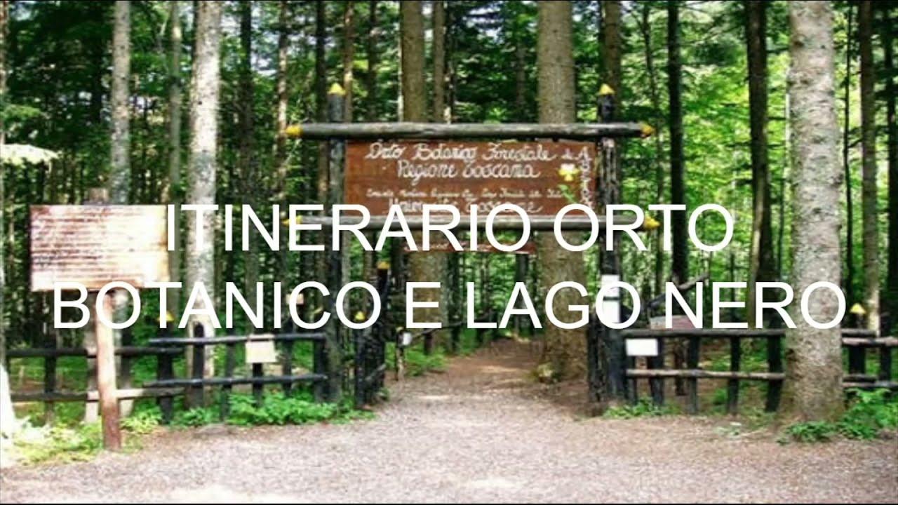 Itinerario dell'Orto Botanico e del Lago Nero