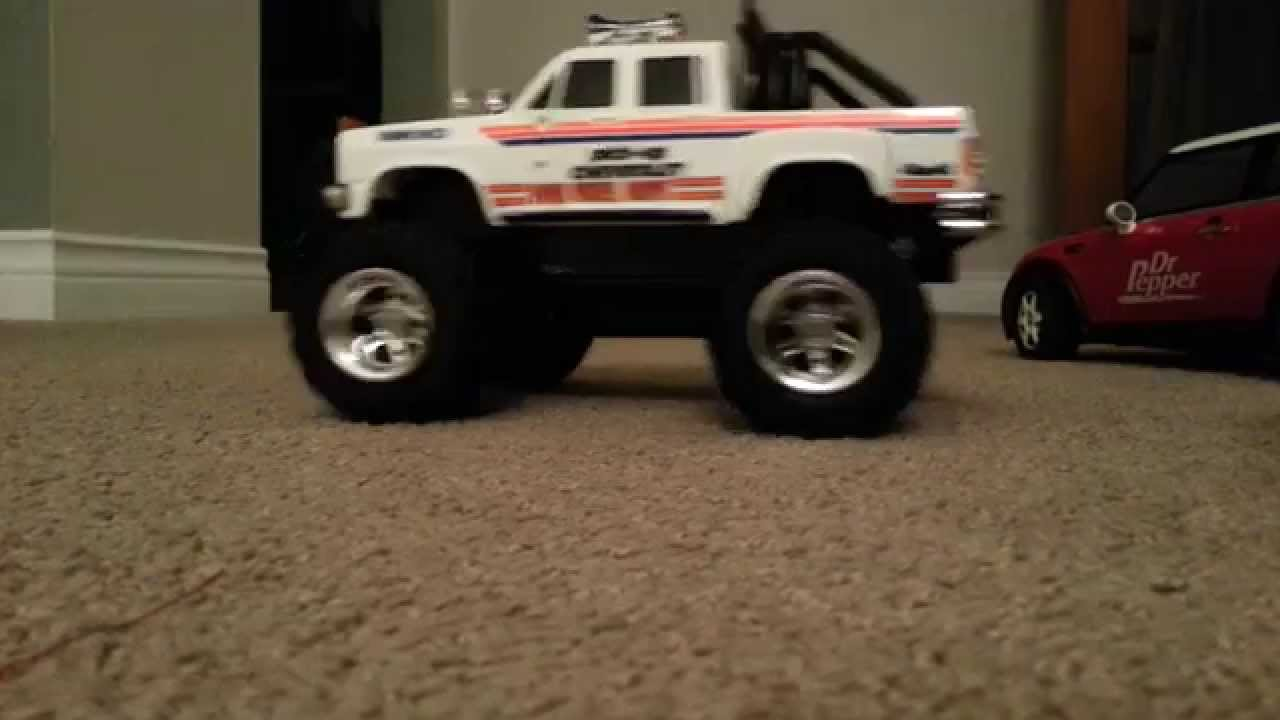 Vintage Nikko Chevrolet 4x4 RC truck. - YouTube