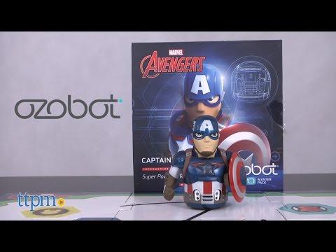 Marvel Avengers Captain America Ozobot Evo Starter Pack from Evollve