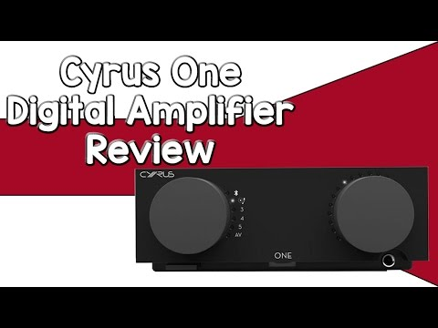 Cyrus One Amplifier Review