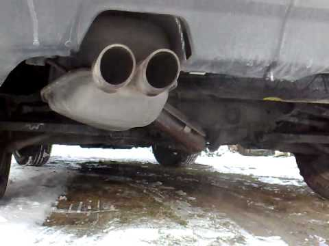 Volvo xc90 V8 EXHAUST start up and revs (exhaust sound ...