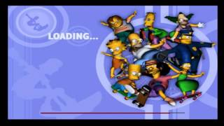 The Simpsons Skateboarding PS2 Gameplay