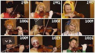 Evolution of Anime Music PART 2 (Extended)   1989-2016