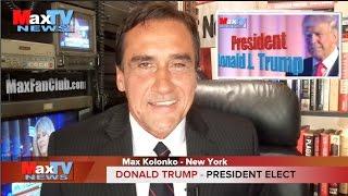 President Elect Donald J. Trump - Max Kolonko MaxTV Mówię Jak Jest thumbnail