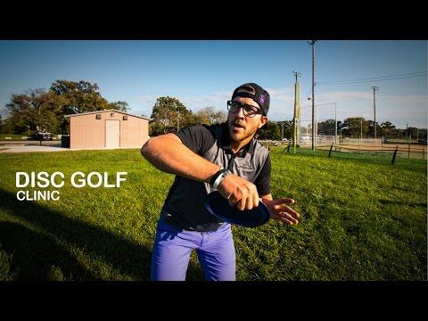 Eric Oakley Disc Golf Clinic | Sidearm Throw