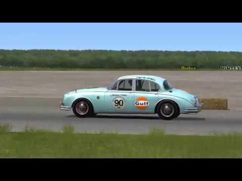 Jaguar Mk2 3 8 Mod Assetto Corsa Youtube