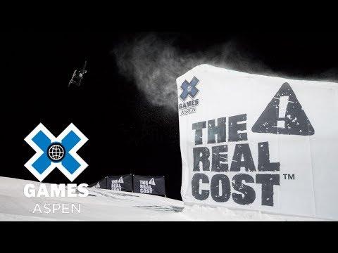 Max Parrot wins Men's Snowboard Big Air gold | X Games Aspen 2018