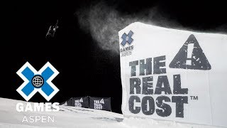 Max Parrot wins Men's Snowboard Big Air gold | X Games Aspen 2018