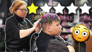 Getting my HAIR BLEACHED At The WORST REVIEWED SALON In My City (1 STAR)