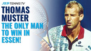 Thomas Muster: The Only Man To Win A Tennis Masters Event in Essen! YouTube Videos