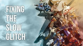 Fixing the Slowdown Glitch in Final Fantasy Tactics: War of the Lions