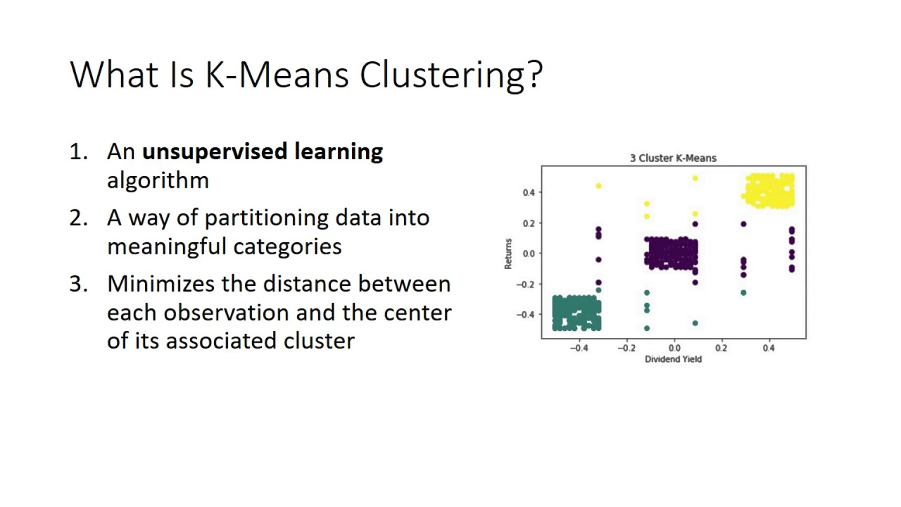 K-means clustering: Use of sklearn in Python