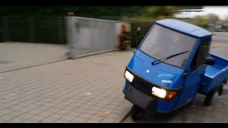 Piaggio APE z glebą czy bez gleby? Piaggio APE with or without crash?