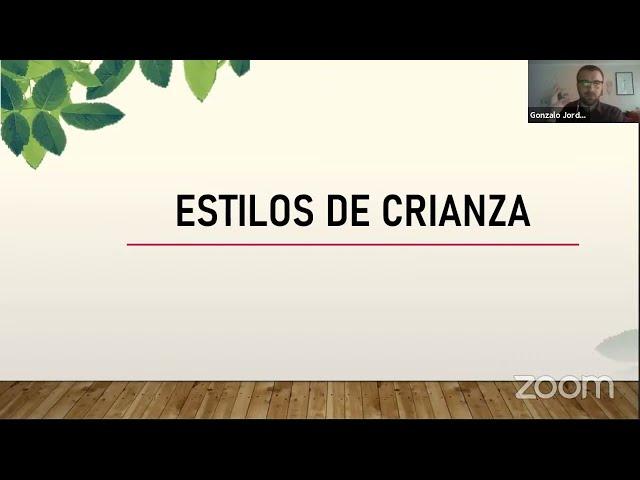 Charla Disciplina Positiva - Ed. Parvularia Pumahue Peñalolén