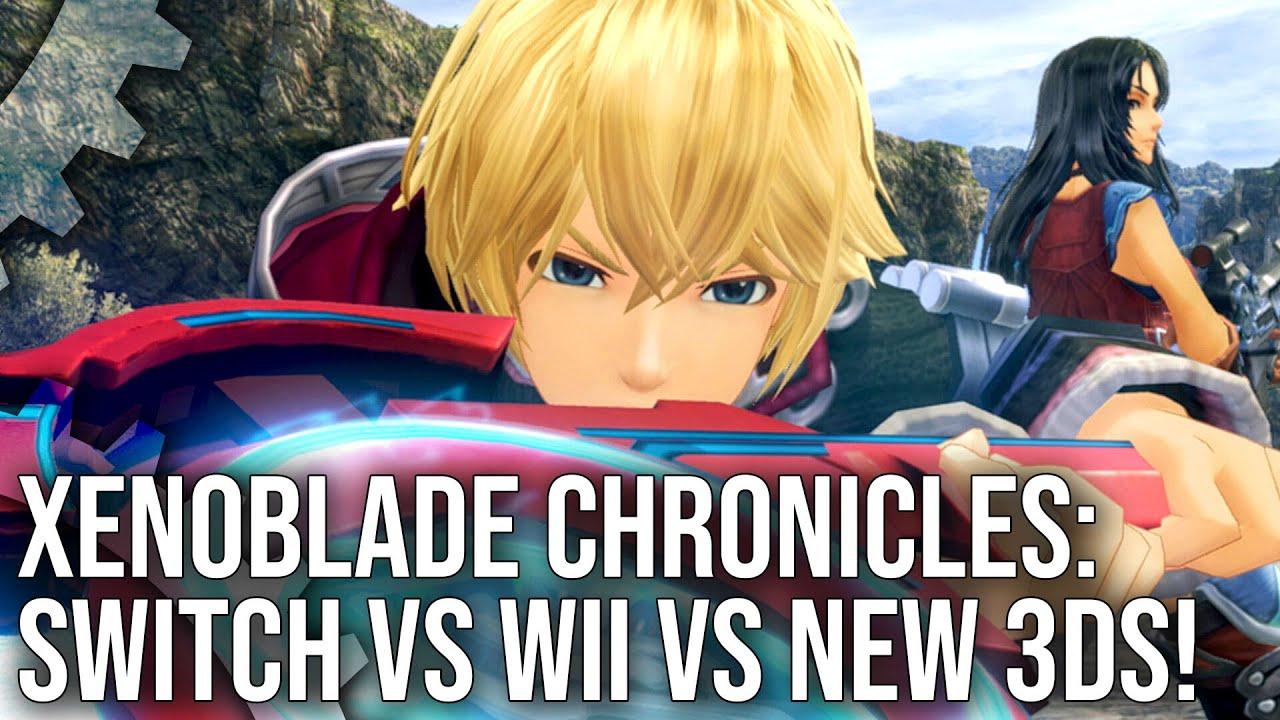 Πλήρης τεχνική ανάλυση του Xenoblade Chronicles Definitive Edition μεταξύ Wii, 3ds και Switch
