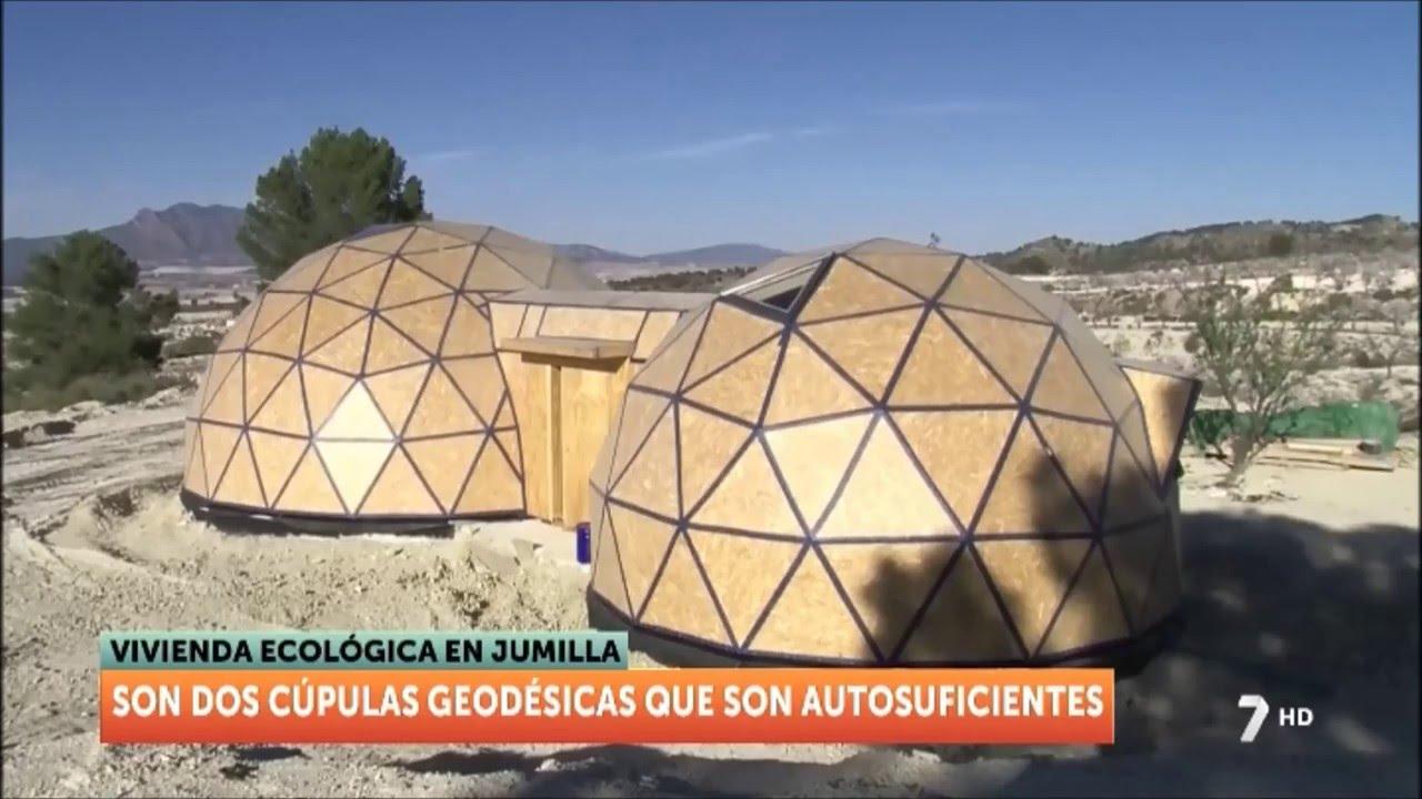 Casa geod sica y autosuficiente en jumilla murcia youtube - Casas geodesicas ...