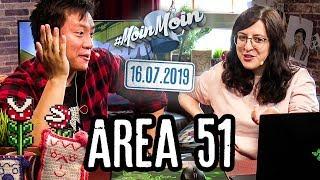 Masterplan zum Area 51 Raid & Paarungsverhalten diverser Nationen | MoinMoin mit Kiara und Viet