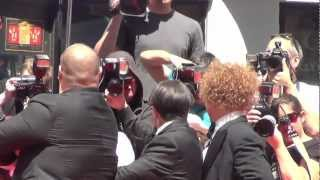 The Three Stooges Movie Hollywood Premiere 2012