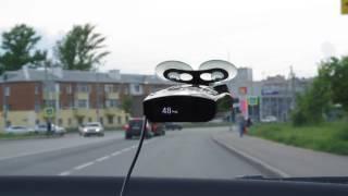 реакция iBOX PRO 900 GPS: стационарный комплекс, радар в кустах, камера светофора