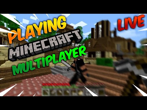 [hindi]-playing-minecraft-live-multiplayer-with-subscribers!-(java)-|let's-play-together!-|-creative
