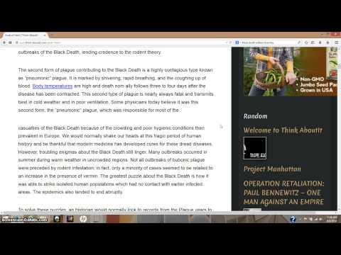 The Black Death & The Gods Of Eden